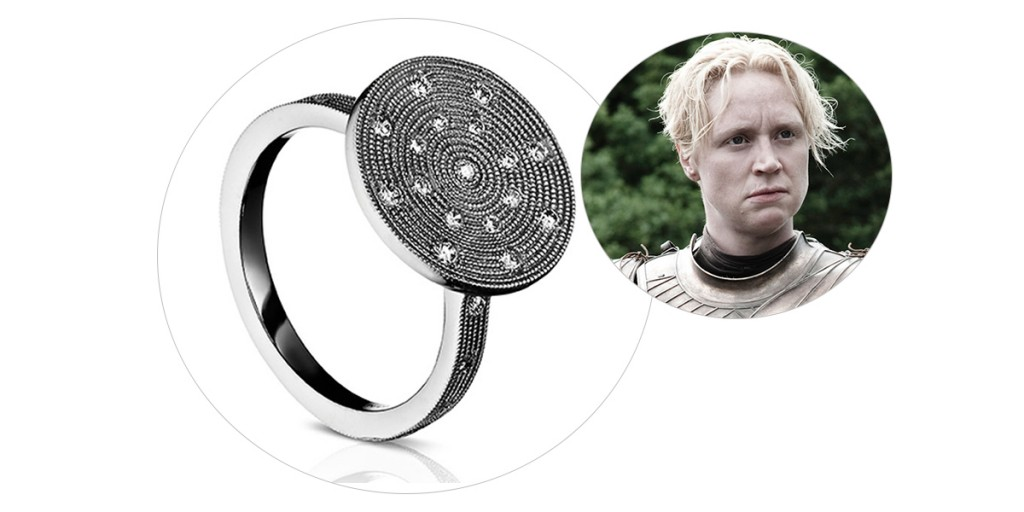 brienne engagement ring game of thrones