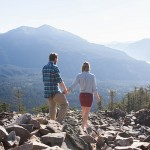 Picturesque Hiking Proposal - Jen and Jed
