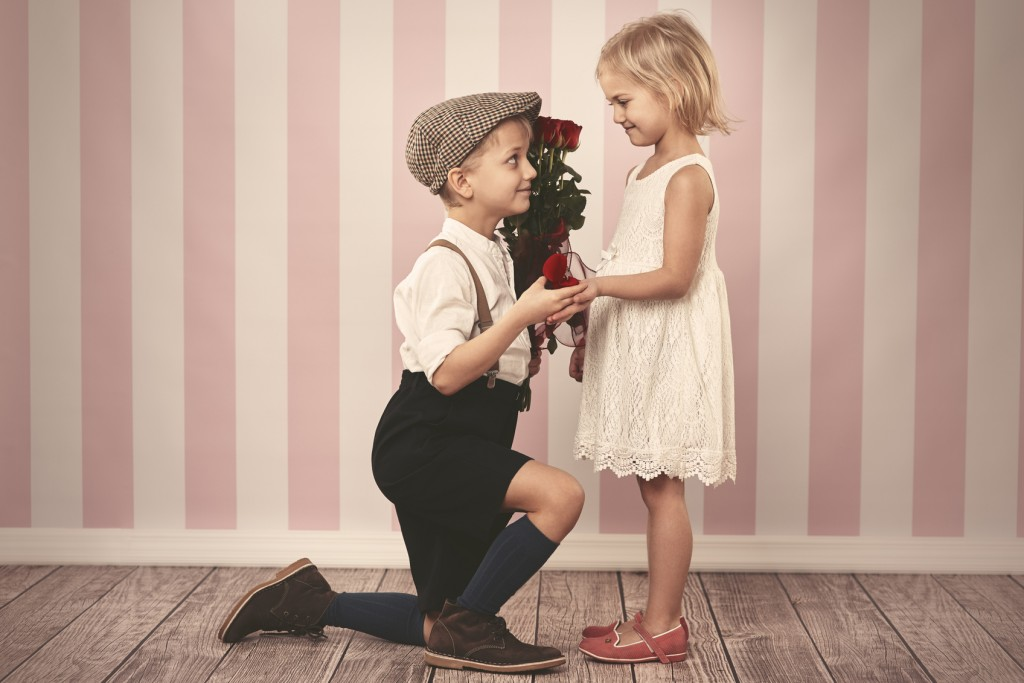 propose with kids