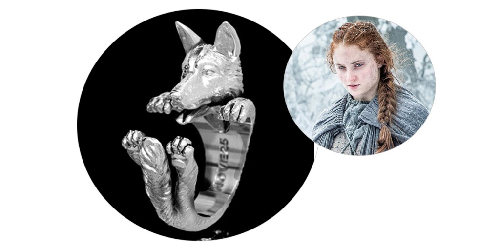 sansa stark engagement ring game of thrones