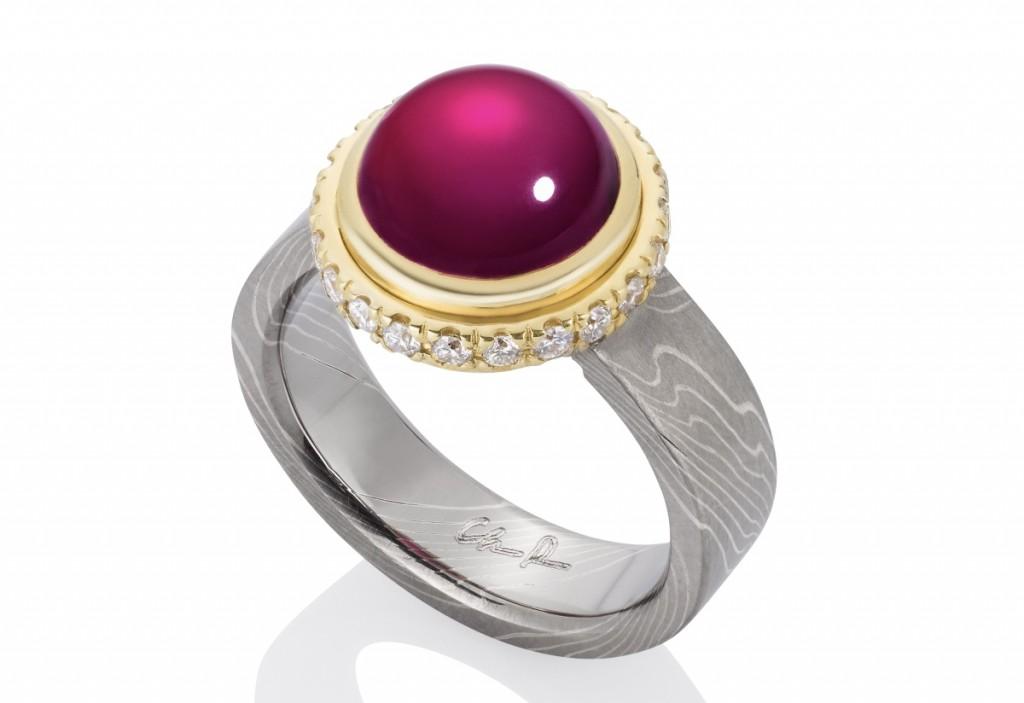 Chris Ploof Ruby ring