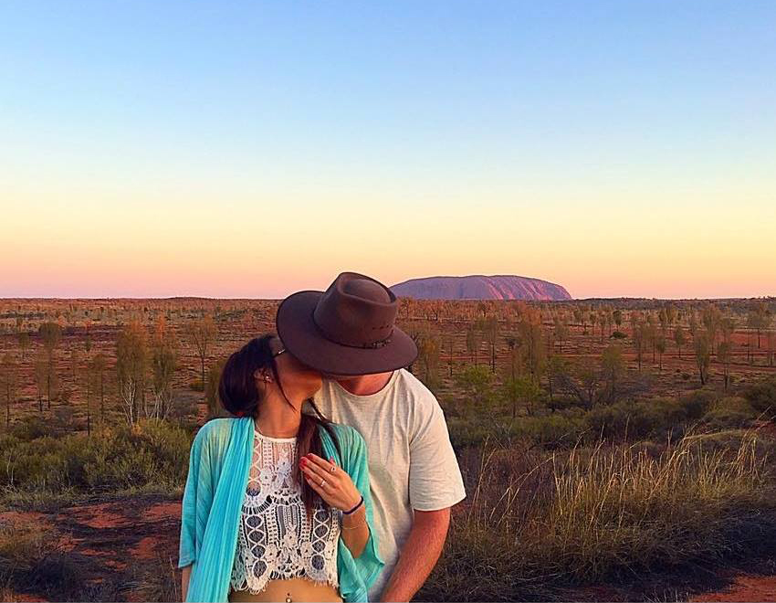 Amazing Australia Proposal - Elizabeth and Josh
