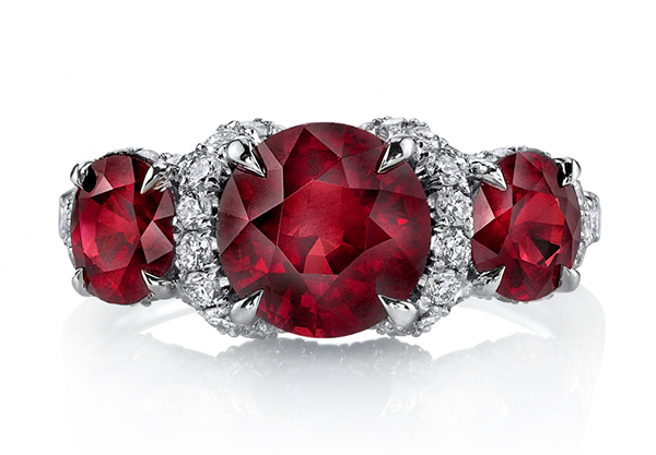 omiprive ruby red engagement ring leo