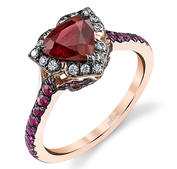 parade ruby engagement ring leo
