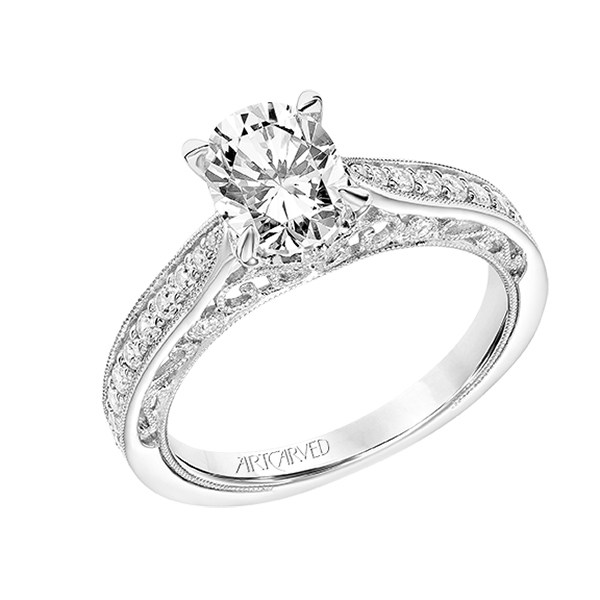 artcarved virgo engagement ring