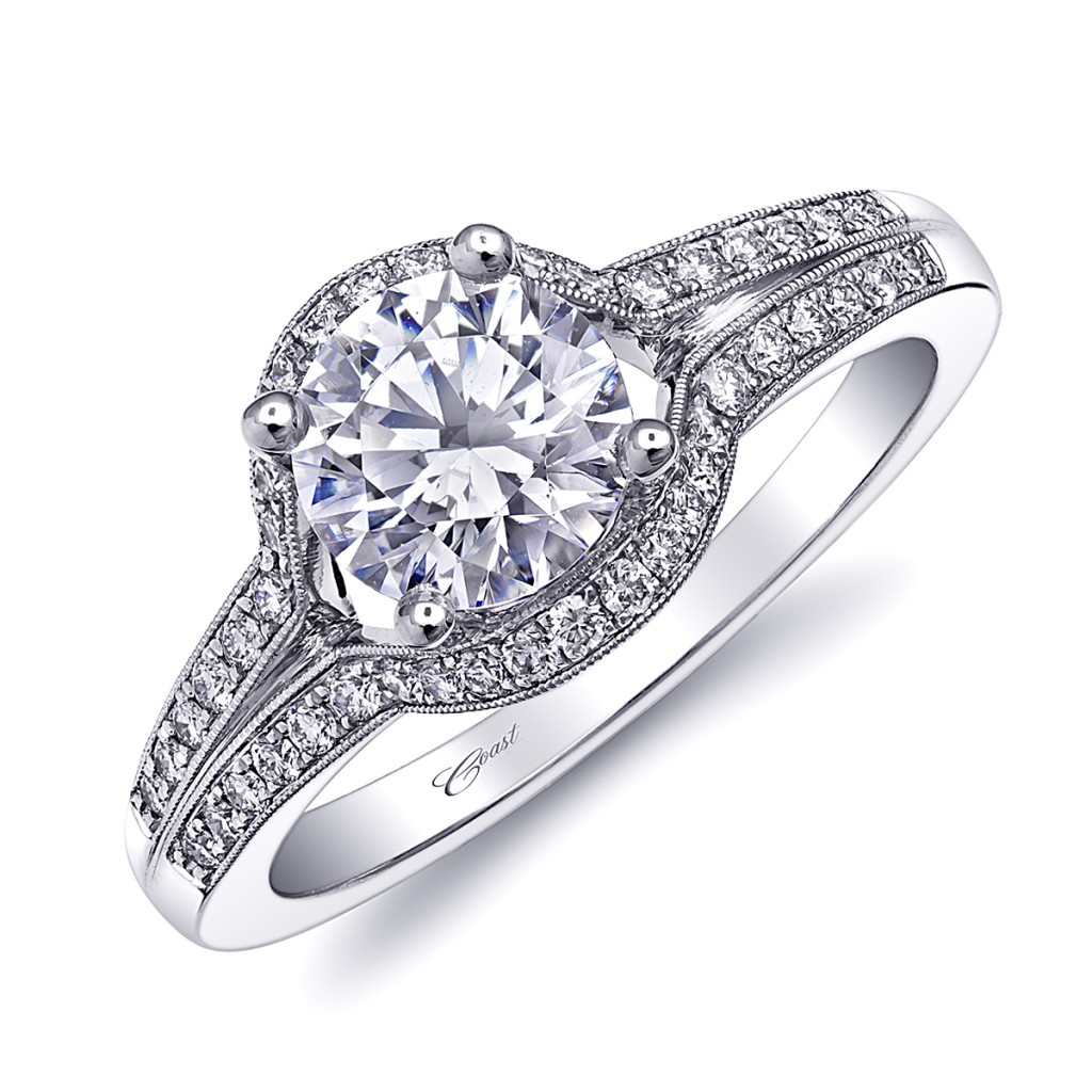 coast virgo engagement ring