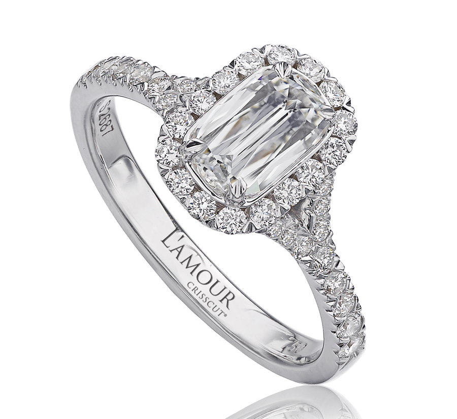 l'amour virgo engagement ring