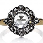 Rose Cut Engagement Rings
