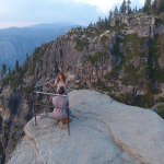 Stunning Drone Shot Yosemite Park Proposal