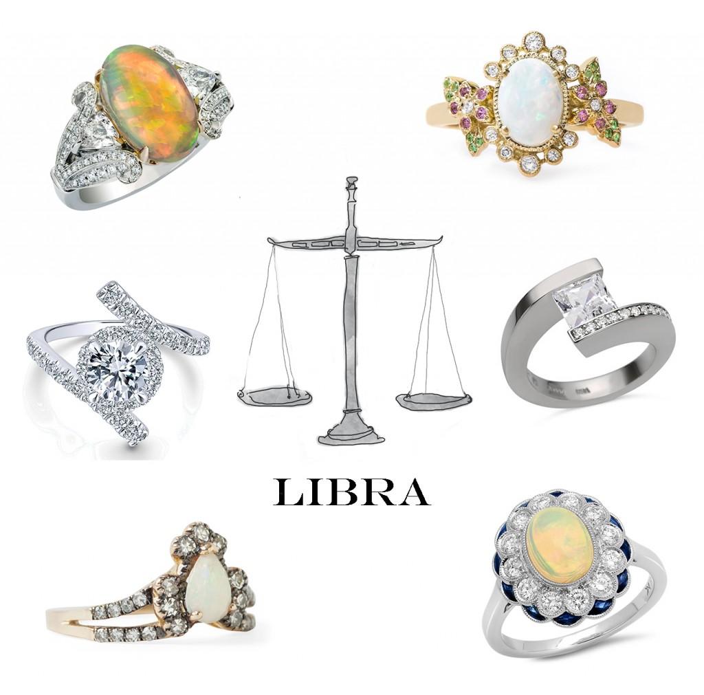 Libra Engagement Rings