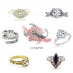 Scorpio Engagement Rings