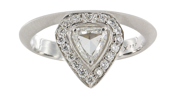 Engagement Rings with Trillion cut Diamond Centers Engagement 101