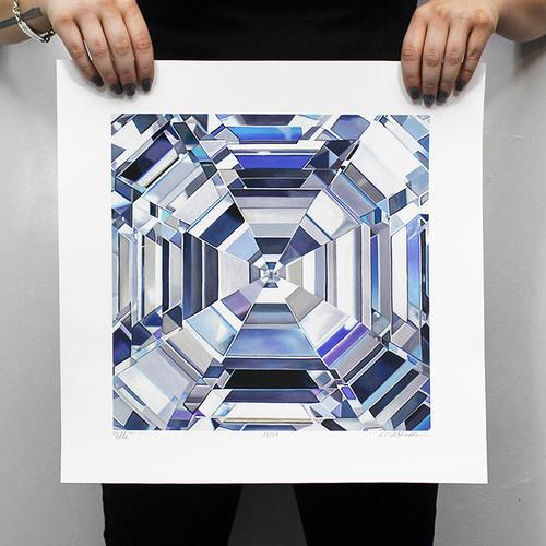 Angie Crabtree, the Diamond Painter