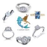 Capricorn Engagement Rings
