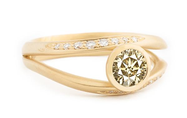 Anne sportun pisces engagement ring