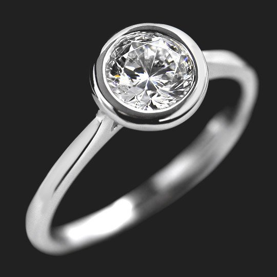 Elsa Solitaire Engagement Ring