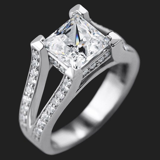 Sunshine Engagement Ring