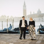 Engaged in Venice, Italy