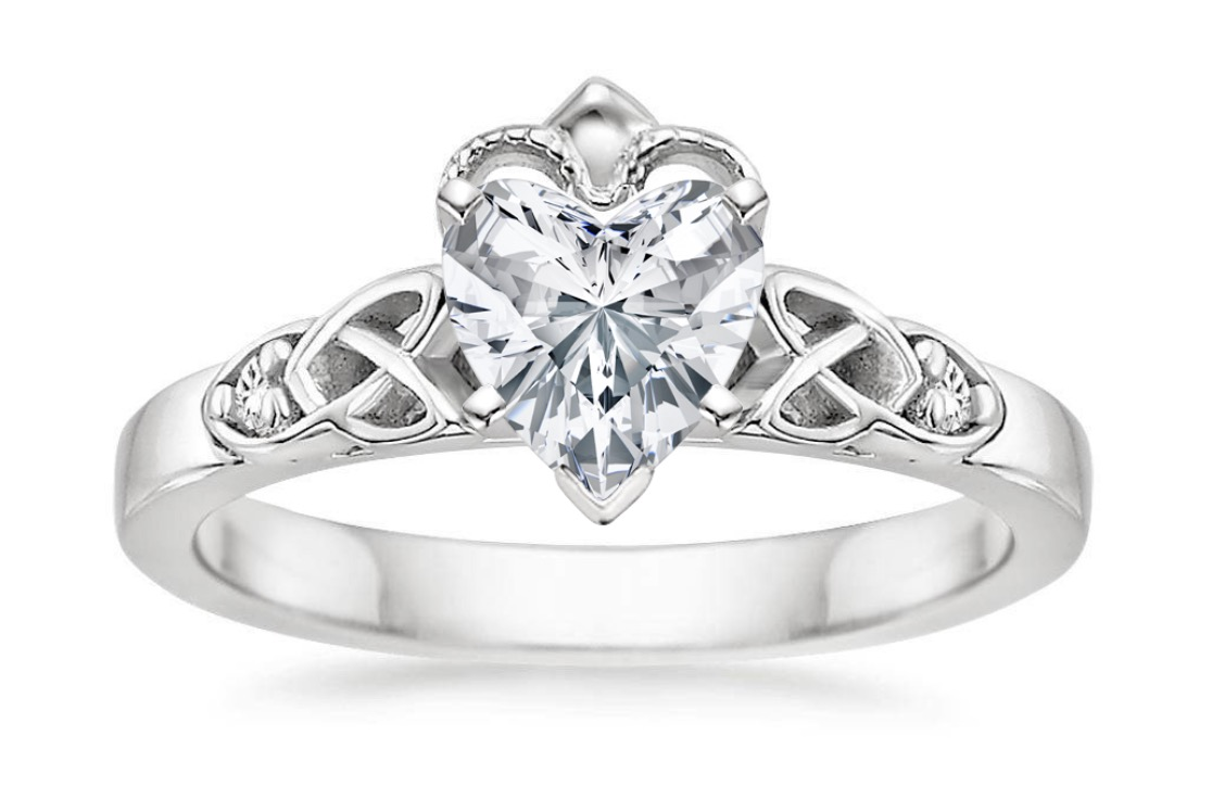 Claddagh ring heart