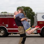 Amazing Firefighter Proposal