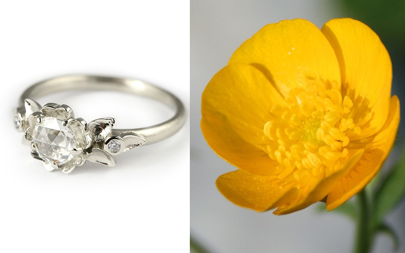 buttercup engagement ring megan thorne