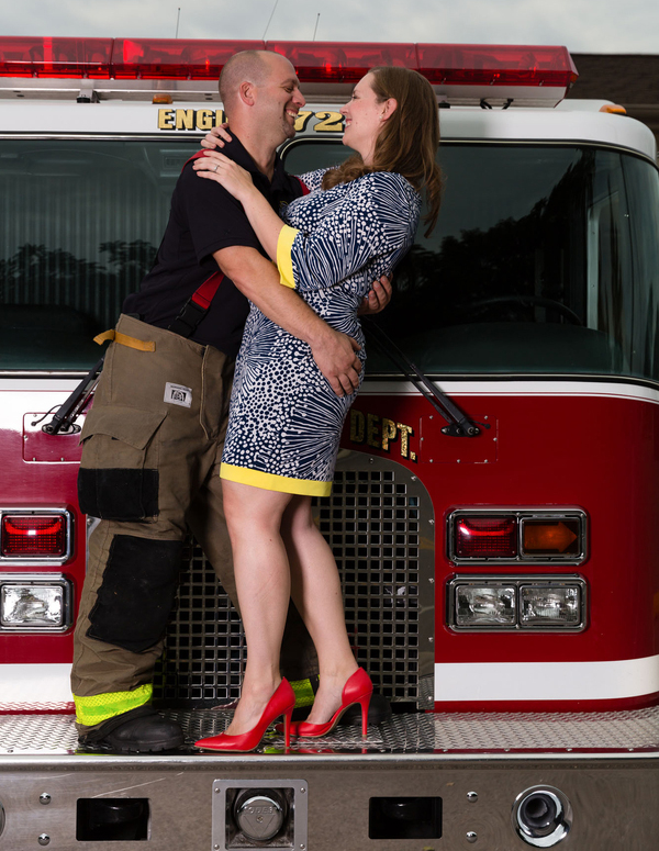 firefighter proposal engagement spring