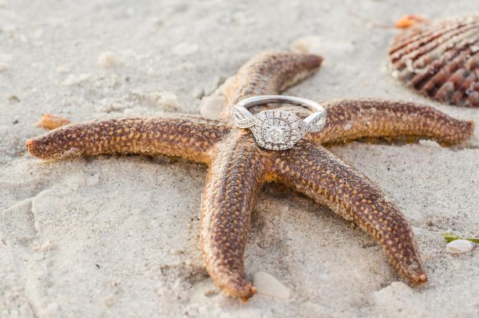 jordan engagement ring starfish