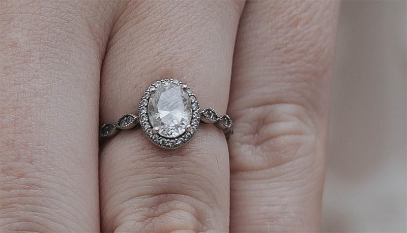 sean and gina engagement ring