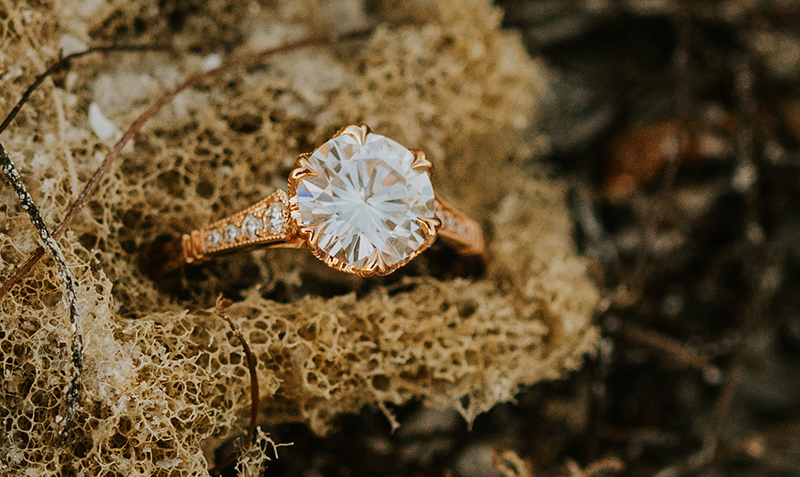 belair rogers engagement ring