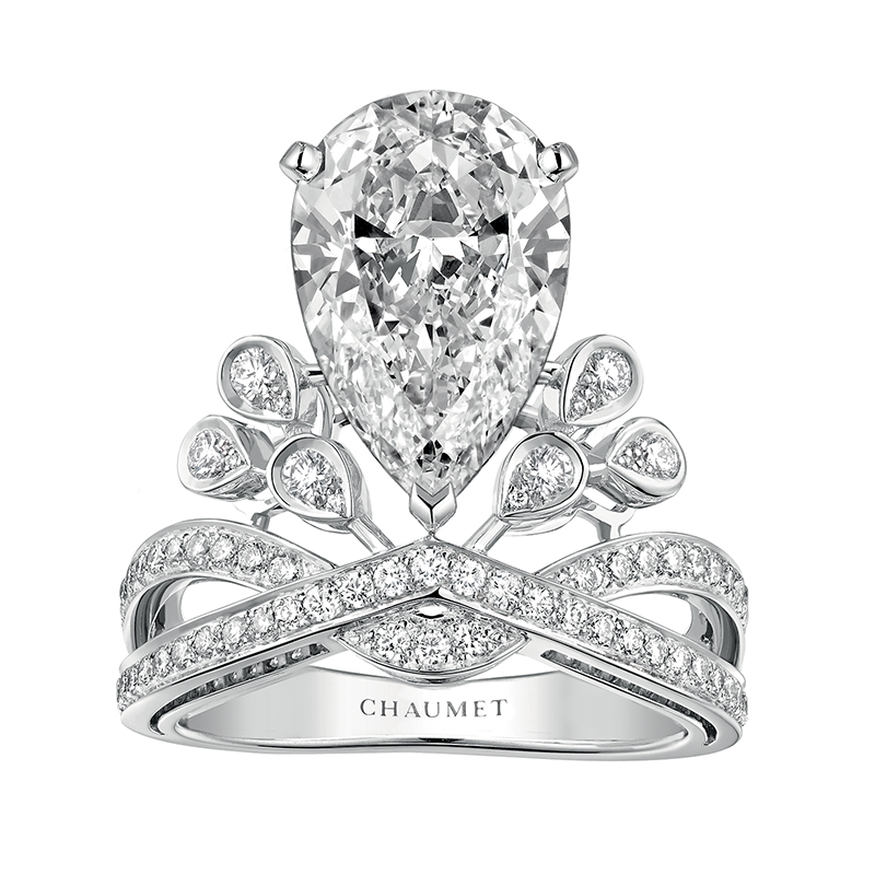 Chaumet your necessary stop in paris for bridal jewelry for Chaumet wedding ring