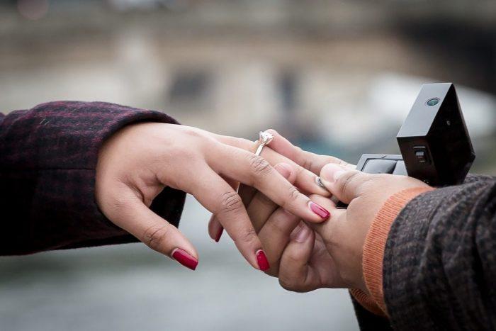 paris engagement ring