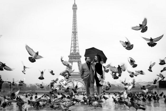 A Romantic Proposal in Paris
