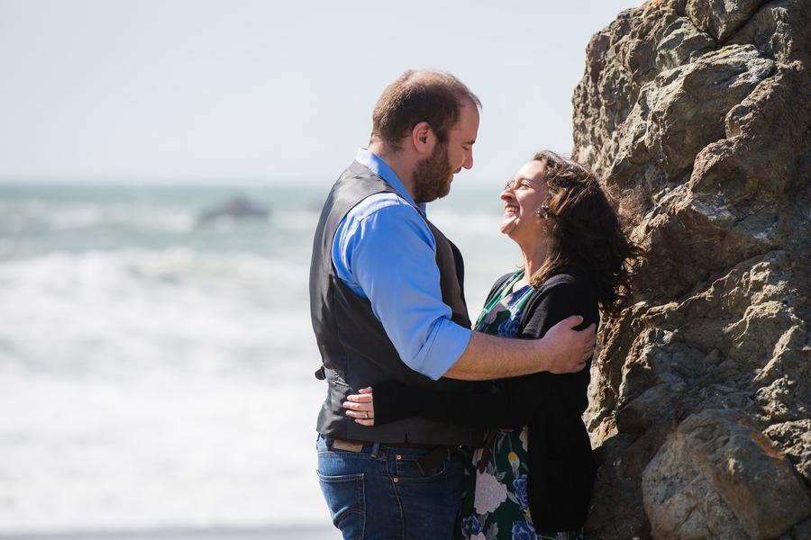 engagement beach proposal love