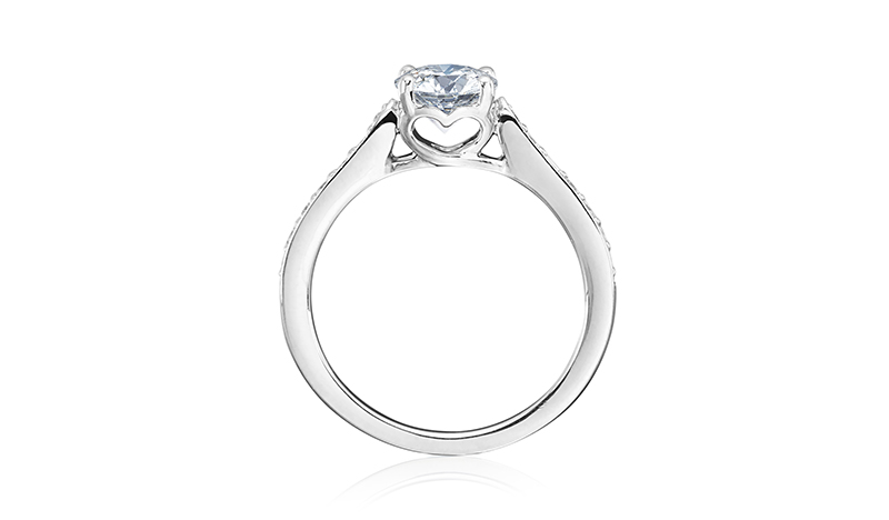 love engagement ring tiny hearts fund