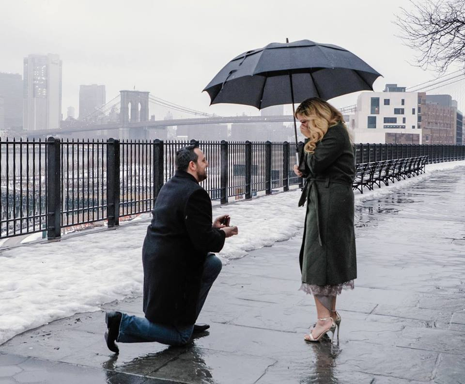 rainy proposal brooklyn