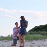 A Family and Friends Beach Proposal