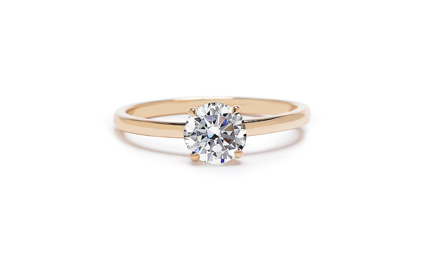 hudson engagement ring gotham collection 4 prongs