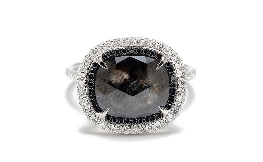 trinity engagement ring gotham collection