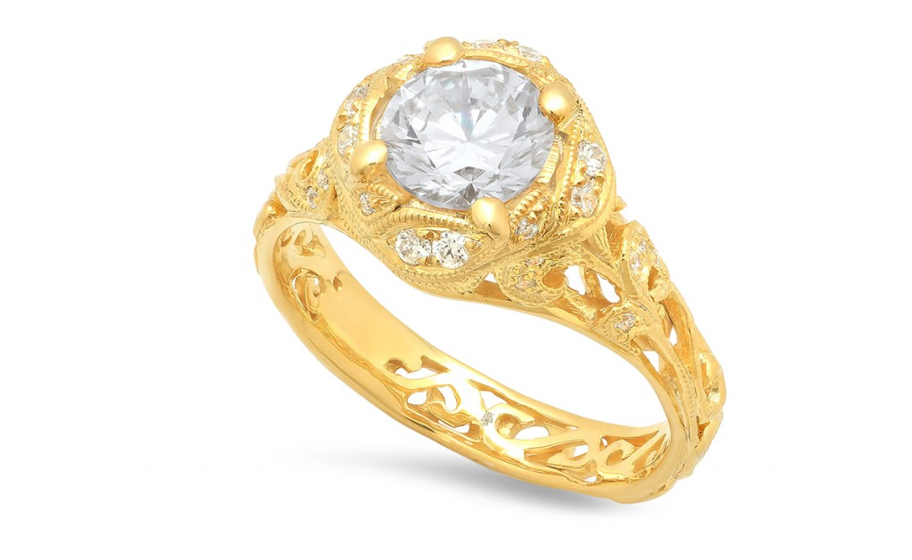 Art N engagement ring beverly k