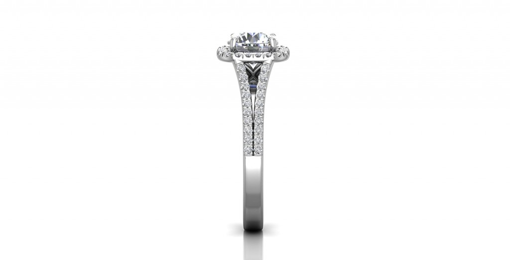 CM09SCU-6.5RD-WR4 martin flyer engagement ring