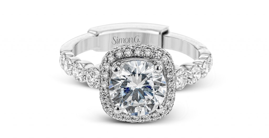 Simon Fit Adjustable shank engagement ring