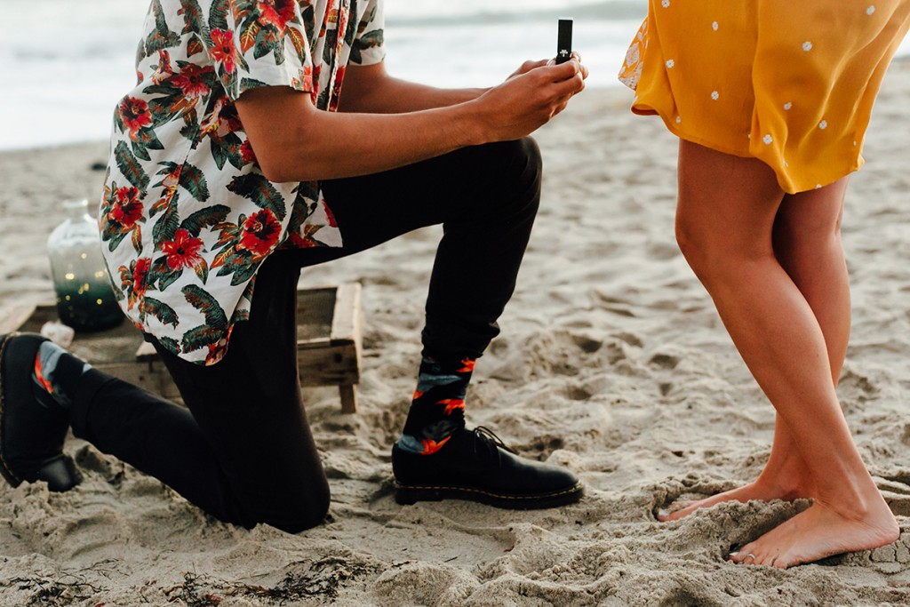 The Proposal Socks Men Have Been Dreaming About
