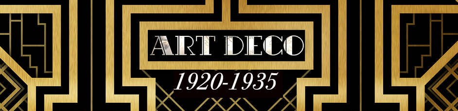 art deco perdiod banner