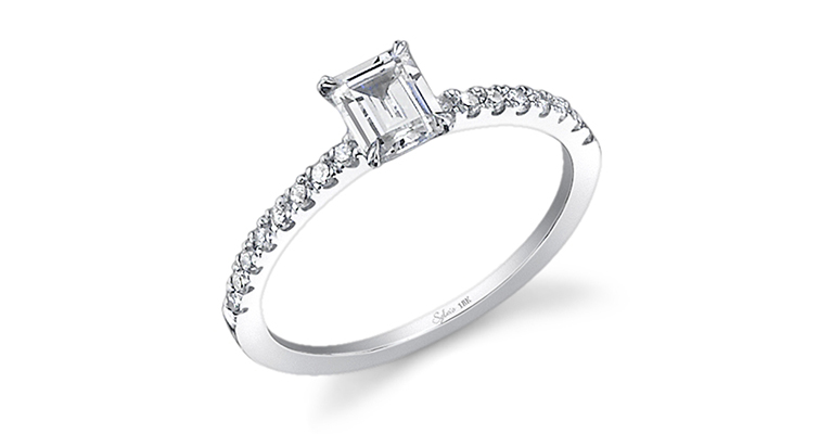 petite engagement ring sylvie collection