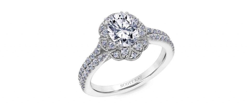 scott kay engagement ring heavens gates