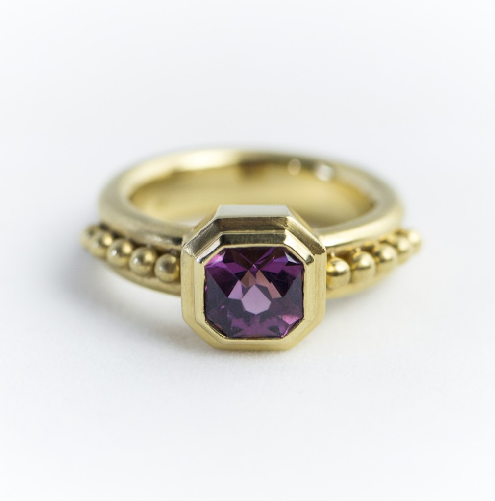 August spinel Leigh Maxwell Jewelry with Anza Gems stone r