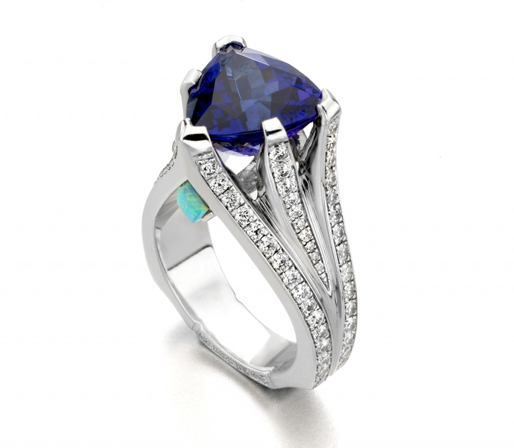December MArk Schneider Tanzanite