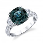 December Birthstone Engagement Rings
