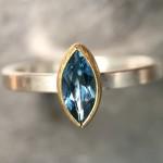 Topaz Engagement Rings