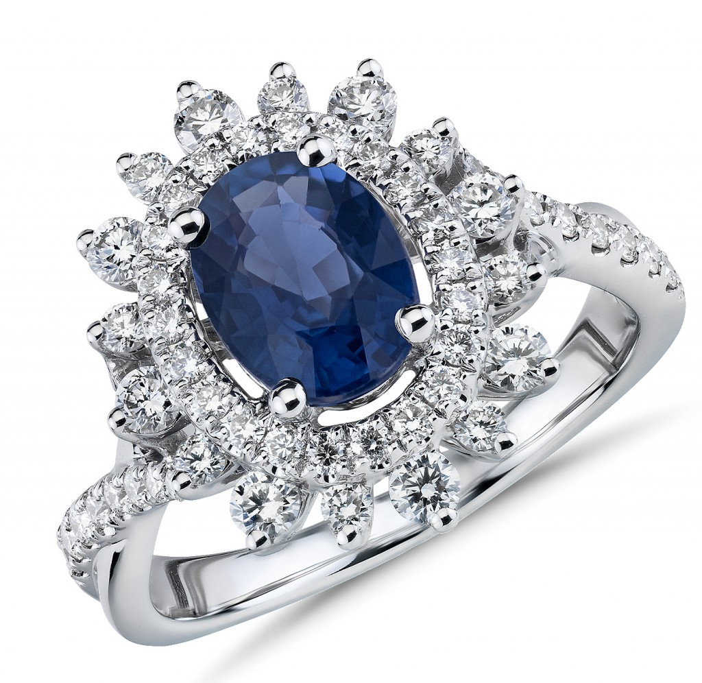 blue nile sapphire engagement ring truly zac posen